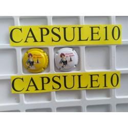 2 CAPSULES DE CHAMPAGNE...