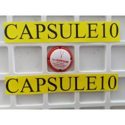 CAPSULES DE CHAMPAGNE 100%...
