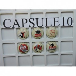 CAPSULE DE CHAMPAGNE MAI 68...